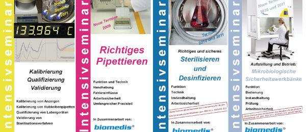 Intensivseminare für den sicheren Laborbetrieb bei biomedis